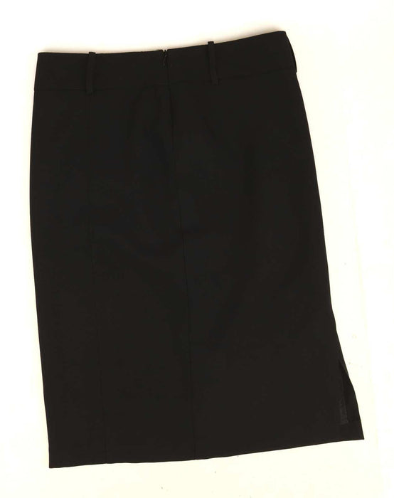 George Womens Size 10 Black Pencil Skirt (Regular)
