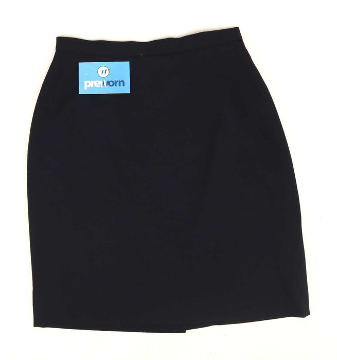 Marks & Spencer Womens Size 8 Blue Skirt (Regular)