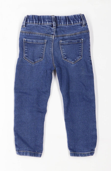 Primark Girls Blue Jeggings Age 2-3 Years