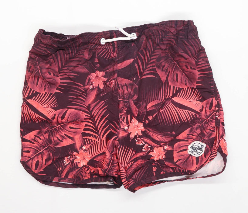 Sonetti Boys Graphic Multi-Coloured Palm Leaf Swim Shorts Age 13-15 Years