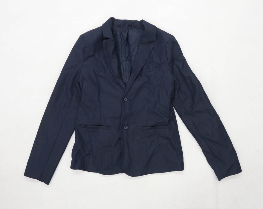Urban Dutlaws Girls Blue Blazer Jacket Age 12 Years