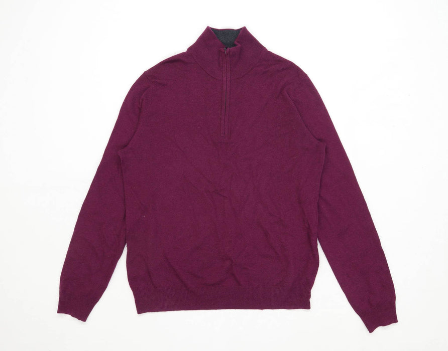 Uniqlo Mens Size S Purple Jumper