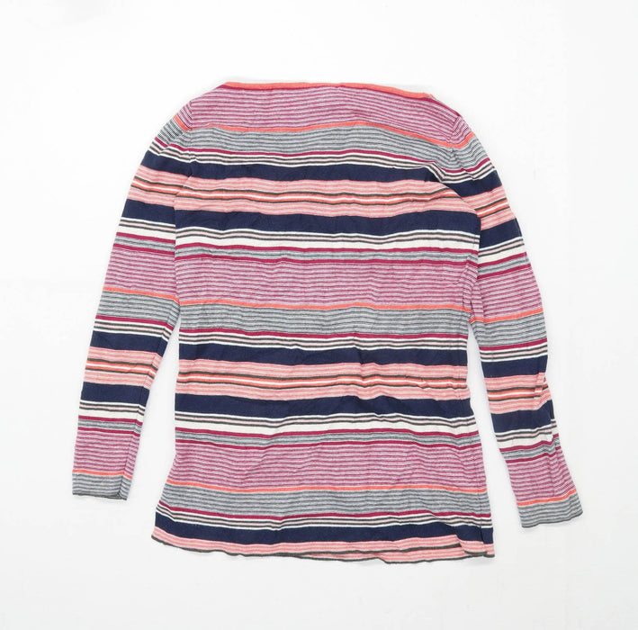 Gap Womens Size S Striped Cotton Multi-Coloured Jumper (Regular)