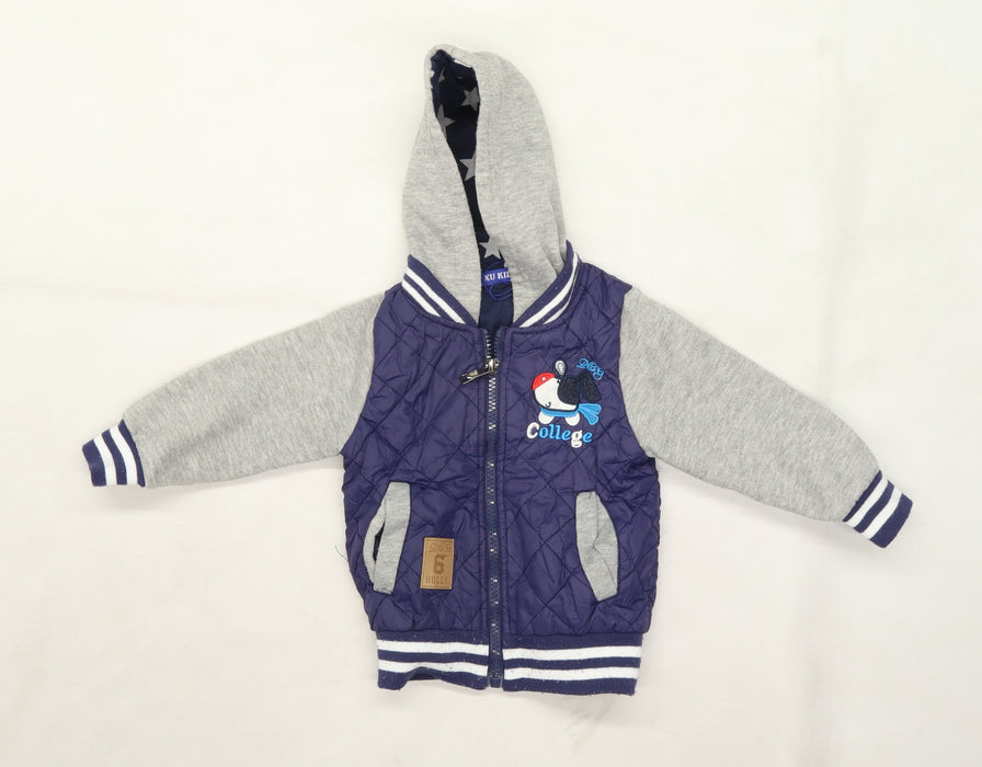 XU Kids Boys Blue   Jacket  Size 12 Months