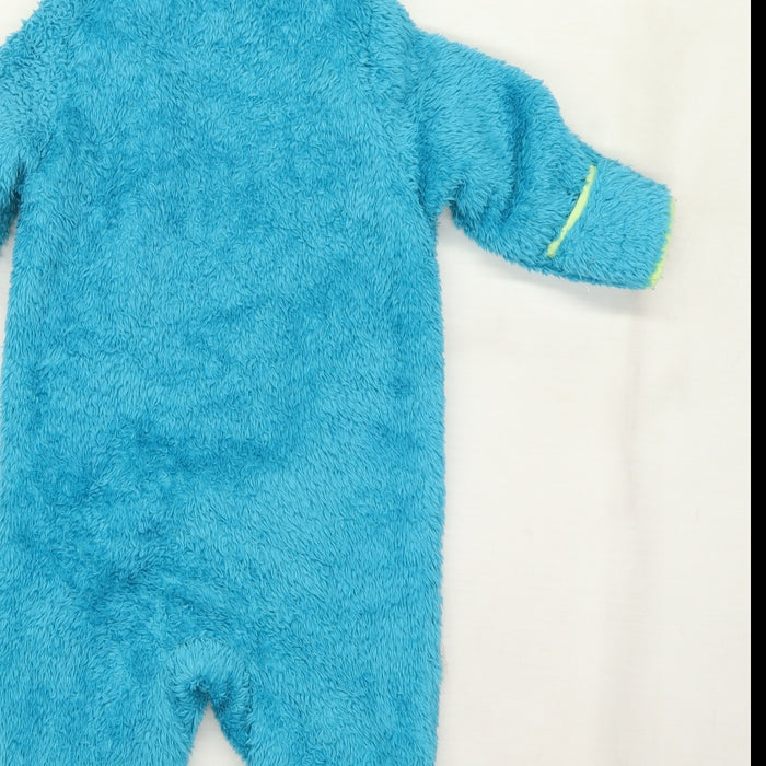 Pep&Co Boys Blue   Coverall One-Piece Size 12 Months