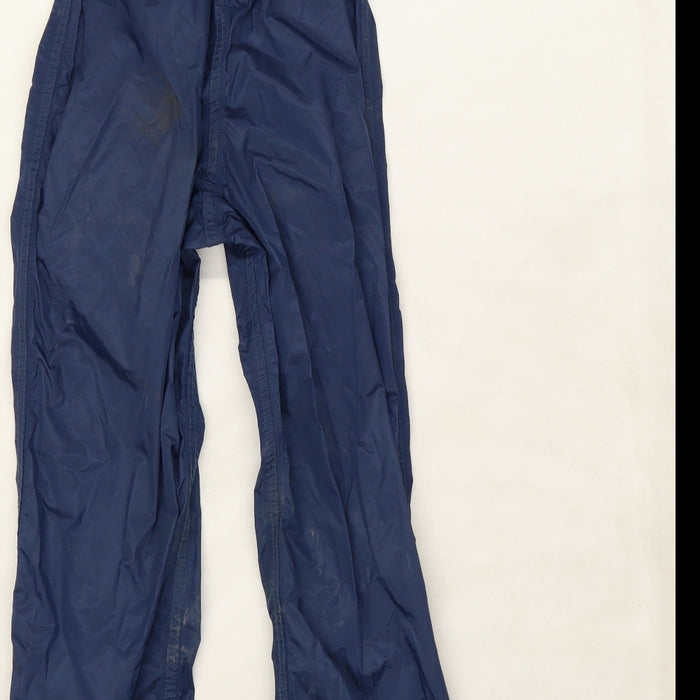 Regatta Boys Blue   Rain Trousers Trousers Size 5-6 Years
