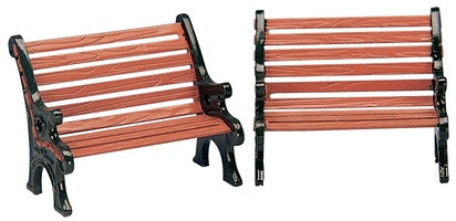 SUPER OFFERTA  LEMAX Park Bench, Set Of 2 SKU: 34895