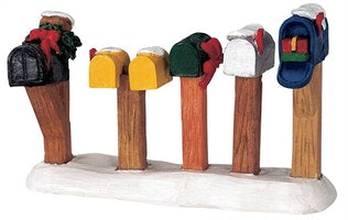 SUPER OFFERTA  LEMAX Country Road Mailboxes SKU: 44229