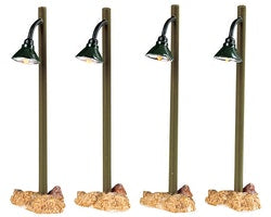 SUPER OFFERTA LEMAX Rustic Street Lamp, Set Of 4