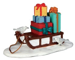 SUPER OFFERTA LEMAX Sled With Presents SKU: 54937