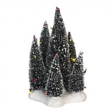SUPER OFFERTA LUVILLE - 6 TREES LED MULTICOLOR 19 CM - SKU 609163