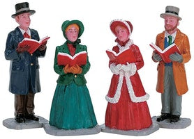 SUPER OFFERTA LEMAX Christmas Harmony, Set Of 4 SKU: 72403
