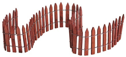 SUPER OFFERTA  LEMAX 18 Wired Wooden Fence SKU: 84813