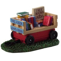 SUPER OFFERTA LEMAX Book Wagon SKU: 94534