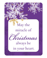 CHRISTMAS FRIENDSHIP CARDS: THE MIRACLE OF CHRISTMAS