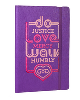 Do Justice (MICAH 6:8) Flexcover Journal