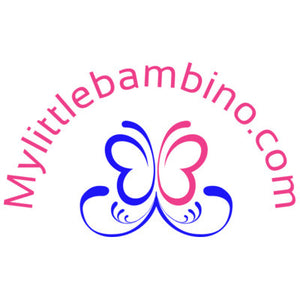 My Little Bambino Logo Pink and Blue Butterfly