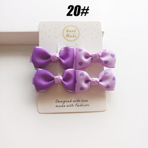 4 Piece Set Fancy Hair Clips