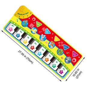 4 Styles Musical Mat with Animal Voice