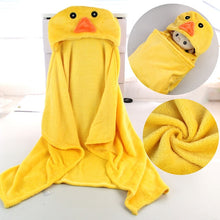 Load image into Gallery viewer, Hooded Lion Poncho / Bath Towel