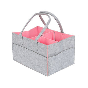 Felt Cloth Organiser For Nappies, Wipes, Sacks