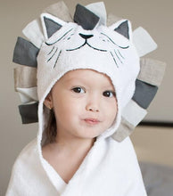 Load image into Gallery viewer, 100% Cotton Kids Towel Hood Cotton Bathrobe Baby Towel for Kids Beach Poncho Bebe Newborn Towel Soft Bath Poncho Boys Girls