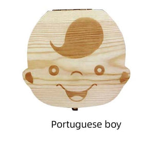 Baby Tooth Box - Various Nationalities