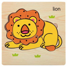 Load image into Gallery viewer, 3D Wooden Puzzle Jigsaw Toy