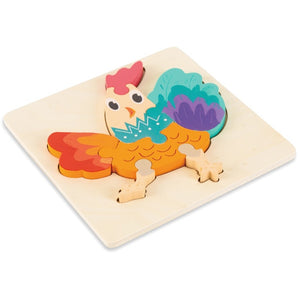 3D Wooden Animal Puzzles