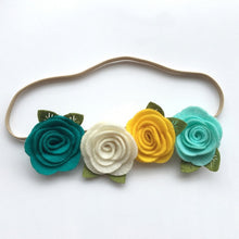 Load image into Gallery viewer, Flower Headbands - Various Designs - Hand made