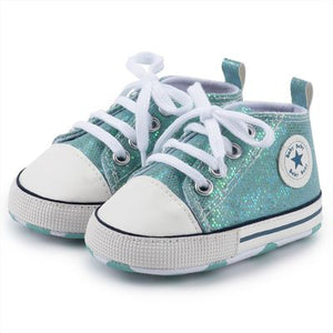 Canvas Baby Sports Sneaker Newborn Baby Shoes First Walkers
