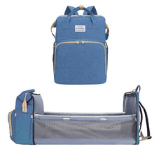 Load image into Gallery viewer, Multifunctional Changing Bag - Converts to Travel Crib