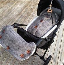 Load image into Gallery viewer, Warm Baby Sleeping Bag Woolly Jumper Style