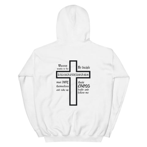 Take Up Your Cross Hoodie Light Colors