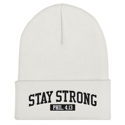 Stay Strong Beanie