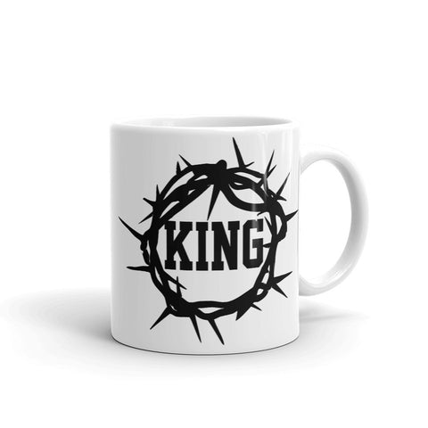 Jesus is King Mug