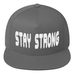 Stay Strong Flat Brim (various color options)