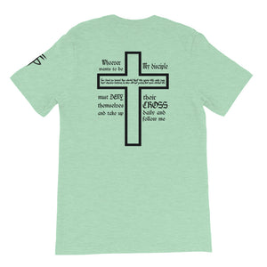 Take Up Your Cross Light Colors Unisex Tee