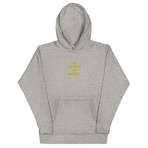 True Strength Life Podcast Embroidered Unisex Hoodie