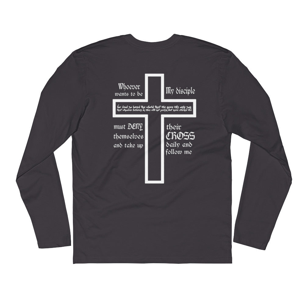 Take Up Your Cross Long Sleeve Tee