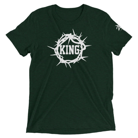 Jesus is King Dark Color Tee