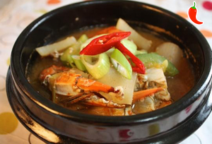 꽃게 된장찌개 Soybean Paste Stew w/ Crab