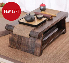Load image into Gallery viewer, Folding Wooden Japanese Tea Table