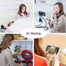Load image into Gallery viewer, Flexible Mobile Phone Holder - Lazy Necklace Bracket