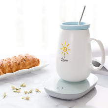 Load image into Gallery viewer, Electric Cup Mug Warmer for Milk, Tea, Coffee