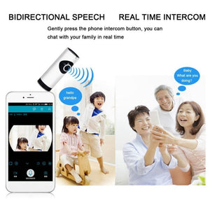 Wifi Enabled Smart Home Surveillance System & Intercom - Baby Monitor