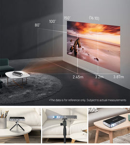 1080P Mini Projector For Smartphone - Amazing!