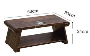 Folding Wooden Japanese Tea Table