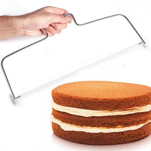 Load image into Gallery viewer, Stainless Steel Cake Slicer for baking
