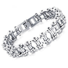 Load image into Gallery viewer, Biker Stainless Steel Bracelet - Bicycle Chain